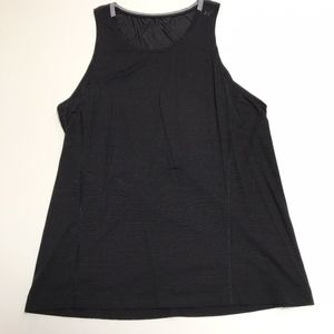 Lululemon Men's Metal Vent Tank Top Shirt Black L